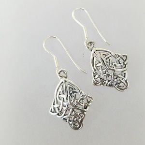 Jewelry - Celtic Sterling Silver Earrings